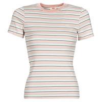 Abbigliamento Donna T-shirt maniche corte Levi's SS RIB BABY TEE