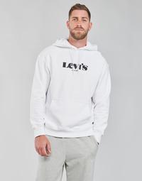 Kleidung Herren Sweatshirts Levi's T2 RELAXED GRAPHIC PO Weiß