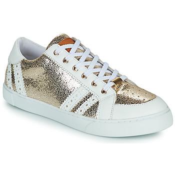 Schuhe Damen Sneaker Low Les Tropéziennes par M Belarbi SUZIE Golden / Weiß