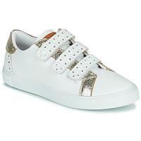 Schuhe Damen Sneaker Low Les Tropéziennes par M Belarbi SUZETTE Weiß / Golden