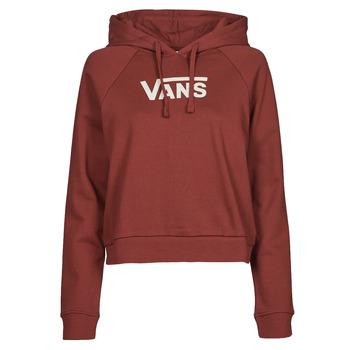 Kleidung Damen Sweatshirts Vans FLYING V FT BOXY HOODIE Bordeaux