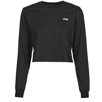 Abbigliamento Donna T-shirts a maniche lunghe Vans JUNIOR V LS CROP