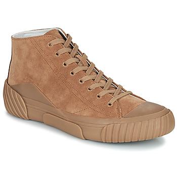 Schuhe Herren Sneaker High Kenzo TIGER CREST HIGH TOP SNEAKERS Kamel