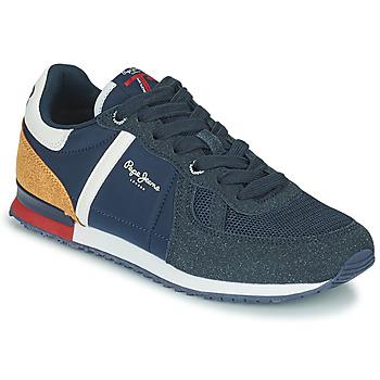Scarpe Bambino Sneakers basse Pepe jeans SYDNEY COMBI BOY