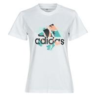 Abbigliamento Donna T-shirt maniche corte adidas Performance FLORAL GFX