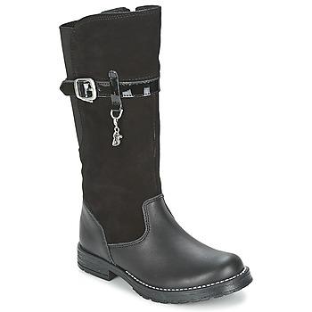 Schuhe Mädchen Klassische Stiefel Start Rite AQUA-FELINE Schwarz