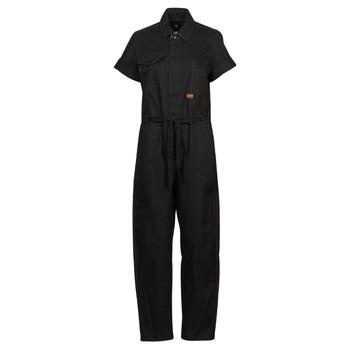 Abbigliamento Donna Tuta jumpsuit / Salopette G-Star Raw ARMY JUMPSUIT SS