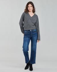 Vêtements Femme Jeans droit Le Temps des Cerises PULP HIGH WAIST