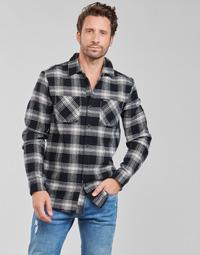 Abbigliamento Uomo Camicie maniche lunghe Volcom TONE STONE L/S