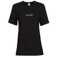 Vêtements Femme T-shirts manches courtes Calvin Klein Jeans SS CREW NECK