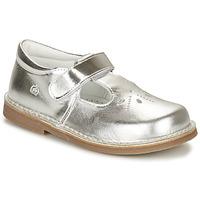 Schuhe Mädchen Ballerinas Citrouille et Compagnie NEW 20 Silber