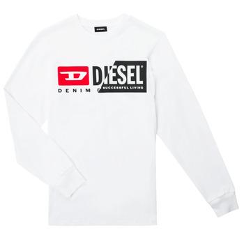 Vêtements Enfant T-shirts manches longues Diesel TDIEGOCUTY ML