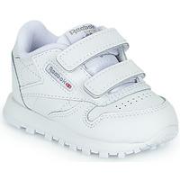 Scarpe Unisex bambino Sneakers basse Reebok Classic CL LTHR 2V