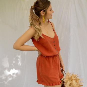 Vêtements Femme Combinaisons / Salopettes Céleste NEROLI