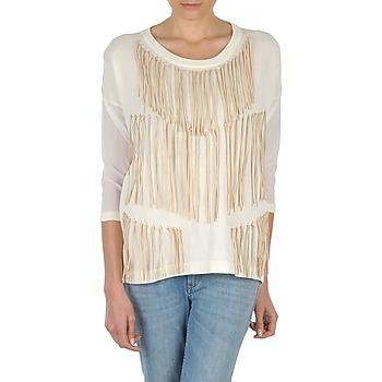 Abbigliamento Donna T-shirts a maniche lunghe Eleven Paris ANGIE Bianco