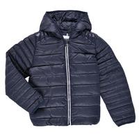 Kleidung Kinder Daunenjacken Aigle ANITA Marineblau