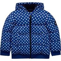 Kleidung Kinder Daunenjacken Aigle SOLILA Blau