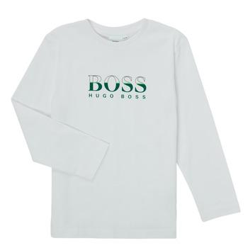 Vêtements Garçon T-shirts manches longues BOSS SOPELAS