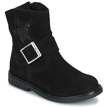 Chaussures Fille Boots Citrouille et Compagnie POUDRE