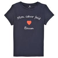 Vêtements Fille T-shirts manches courtes Name it NKFKLORA SS TOP