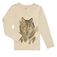 Vêtements Garçon T-shirts manches longues Name it NMMKEVIN LS TOP