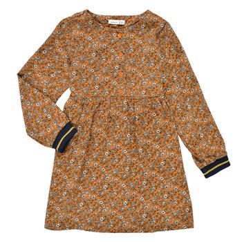 Abbigliamento Bambina Abiti corti Name it NKFKRINFRA LS DRESS