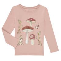 Vêtements Fille T-shirts manches longues Name it NMFTHUMPER ALFRIDA LS TOP