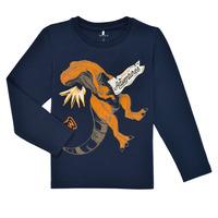 Abbigliamento Bambino T-shirts a maniche lunghe Name it NMMLUKASO LS TOP