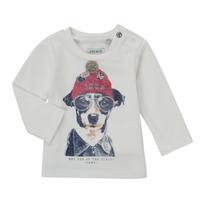 Vêtements Garçon T-shirts manches longues Ikks AUBERGINE