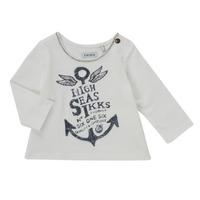 Abbigliamento Bambina T-shirts a maniche lunghe Ikks CHOCOLAT