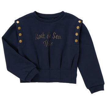 Kleidung Mädchen Sweatshirts Ikks GRENAT Marineblau