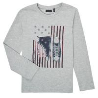 Abbigliamento Bambino T-shirts a maniche lunghe Ikks SAPHIR