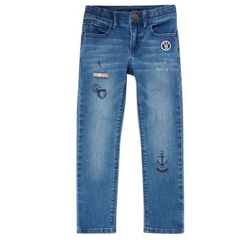 Abbigliamento Bambino Jeans slim Ikks VANILLE