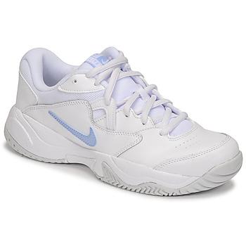 Schuhe Damen Sneaker Low Nike WMNS NIKE COURT LITE 2 Weiß / Silber