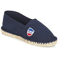 Schuhe Herren Leinen-Pantoletten mit gefloch 1789 Cala UNIE MARINE Marine