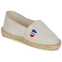 Schuhe Herren Leinen-Pantoletten mit gefloch 1789 Cala UNIE LIN