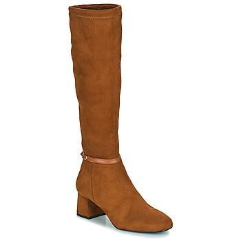 Chaussures Femme Bottes ville JB Martin ANNA TTX CAMEL DCV / ELASTOMERE