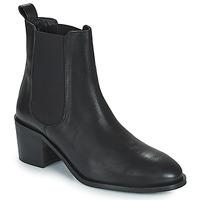 Chaussures Femme Boots JB Martin ADELE VTE NOIR DCV / ELASTOMERE
