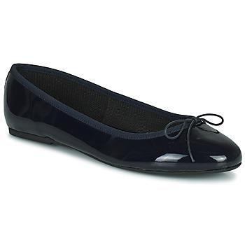 Chaussures Femme Ballerines / babies JB Martin ROMY VVN MARINE ND / ELASTOMERE