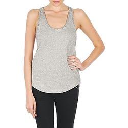 Abbigliamento Donna Top / T-shirt senza maniche Stella Forest YDE019 Ecru