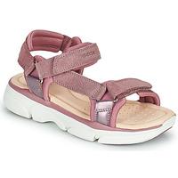 Schuhe Mädchen Sandalen / Sandaletten Geox J SANDAL LUNARE GIRL