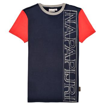 Abbigliamento Bambino T-shirt maniche corte Napapijri SAOBAB