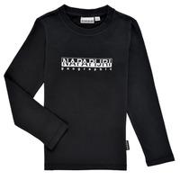 Abbigliamento Bambino T-shirts a maniche lunghe Napapijri S-BOX LS