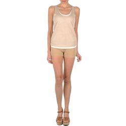 Vêtements Femme Shorts / Bermudas Majestic SOLENE Beige