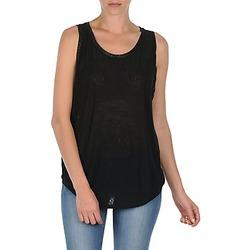 Abbigliamento Donna Top / T-shirt senza maniche Majestic MANON Nero