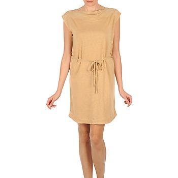 Abbigliamento Donna Abiti corti Majestic CAMELIA Beige