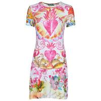 Kleidung Damen Kurze Kleider Desigual TATTO Bunt