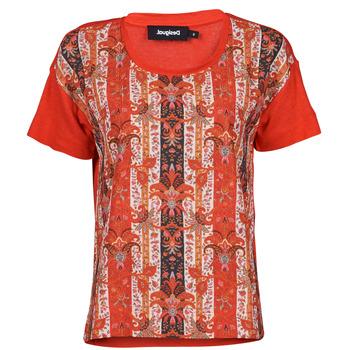 Vêtements Femme T-shirts manches courtes Desigual LOMBOK