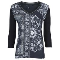 Kleidung Damen T-Shirts Desigual VARSOVIA Bunt