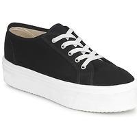 Schuhe Damen Sneaker Low Yurban SUPERTELA Schwarz